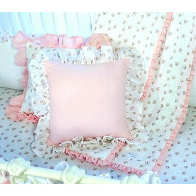 Butterfly Tales Cotton Throw Pillow