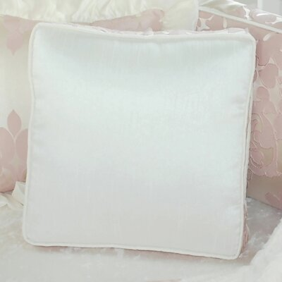 Blush Petal Solid Throw Pillow