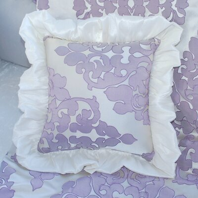 Orchid Petal Throw Pillow