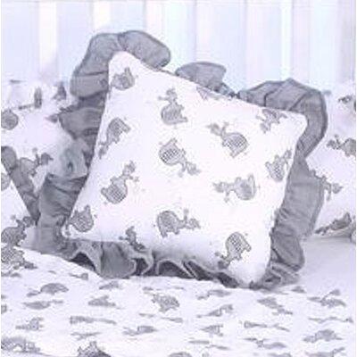Elephant Tales Throw Pillow