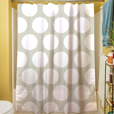 Amina Polka Dot Shower Curtain