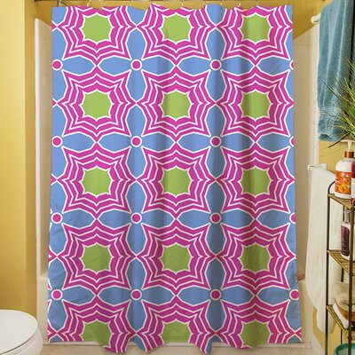 Amina Star Shower Curtain