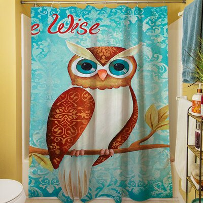 Be Wise Shower Curtain 3PF-GEN-SCDGEN-10