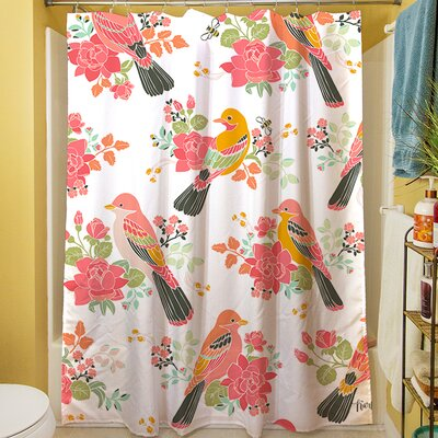 Littlest Bird Shower Curtain