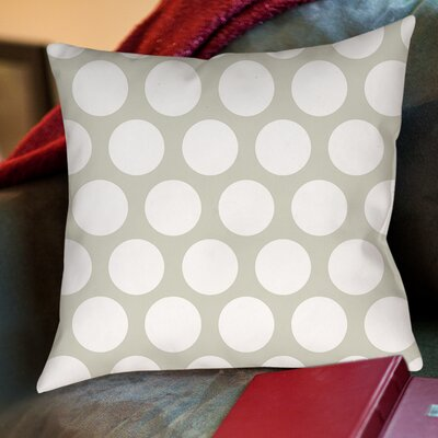 Amina Polka Dot Printed Throw Pillow Size: 18 H x 18 W x 5 D