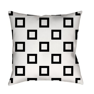 Band Printed Throw Pillow Size: 16 H x 16 W x 4 D