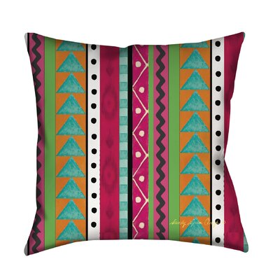 Boho Medallion Printed Throw Pillow Size: 18 H x 18 W x 5 D