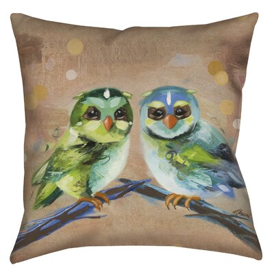 Criss Cross Printed Throw Pillow Size: 16 H x 16 W x 4 D