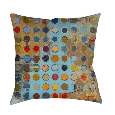 Fibonacci Printed Throw Pillow Size: 16 H x 16 W x 4 D