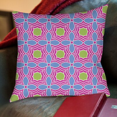 Amina Star Printed Throw Pillow Size: 18 H x 18 W x 5 D