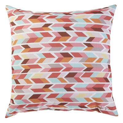 Arrowhead Printed Throw Pillow Size: 16 H x 16 W x 4 D