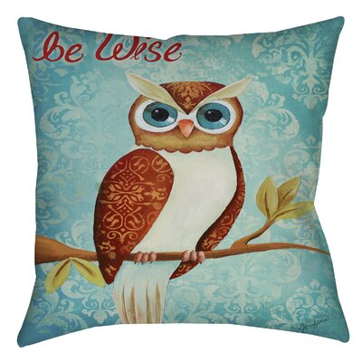 Bewise Printed Throw Pillow Size: 16 H x 16 W x 4 D