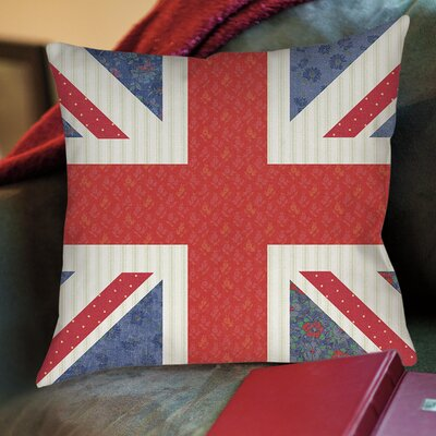 Mini Print Union Printed Throw Pillow Size: 26 H x 26 W x 7 D