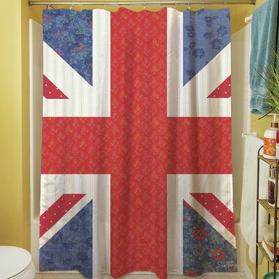 Mini Print Union Shower Curtain