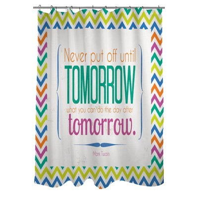 Tomorrow Sdgraphics Studio Sundance Shower Curtain