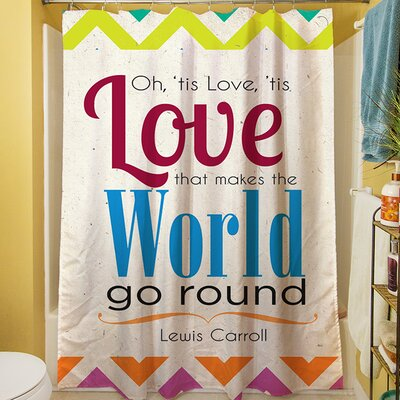 World Sdgraphics Studio Sundance Shower Curtain
