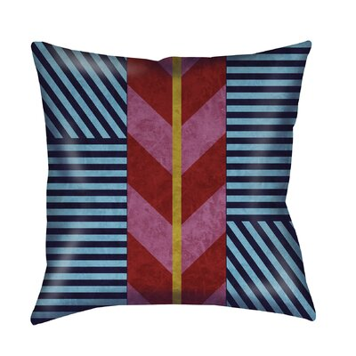 Aztec Printed Throw Pillow Size: 26 H x 26 W x 7 D