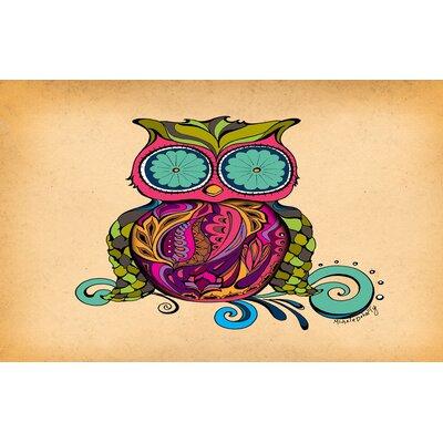 Owl Branch Gregir Area Rug Rug Size: 510 x 44