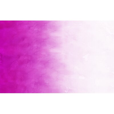 Ombre Pink Area Rug Rug Size: 510 x 44