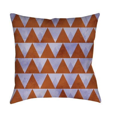 Triangles Printed Throw Pillow Size: 20 H x 20 W x 5 D