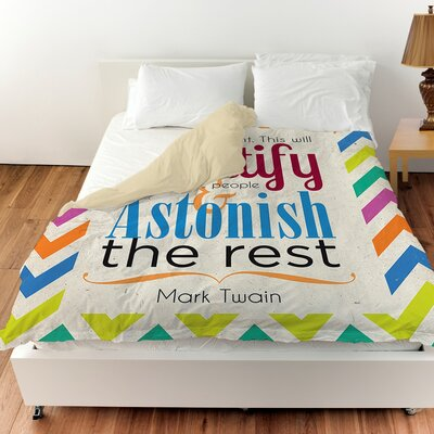 Always Do Right This Will Gratify Duvet Cover Size: King