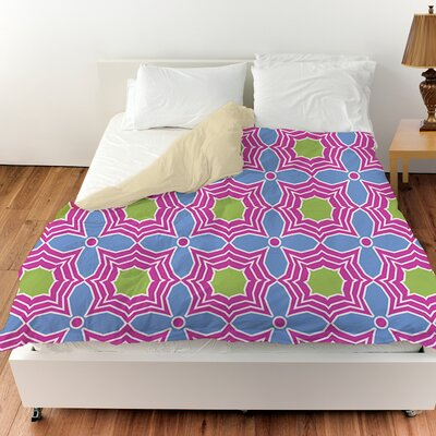 Amina Star Duvet Cover Size: Queen