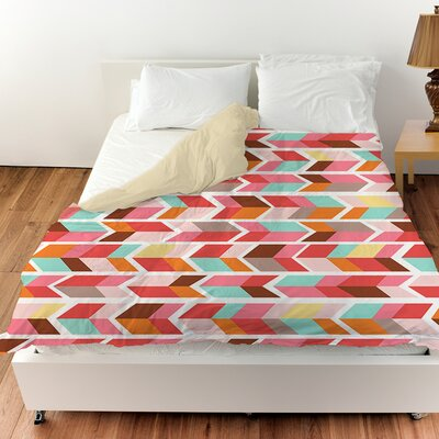 Arrowhead Duvet Cover Size: King