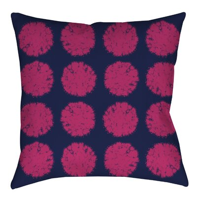 Pod Dots Printed Throw Pillow Size: 26 H x 26 W x 7 D