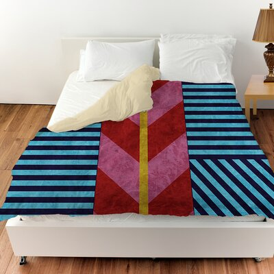 Aztec Duvet Cover Size: King