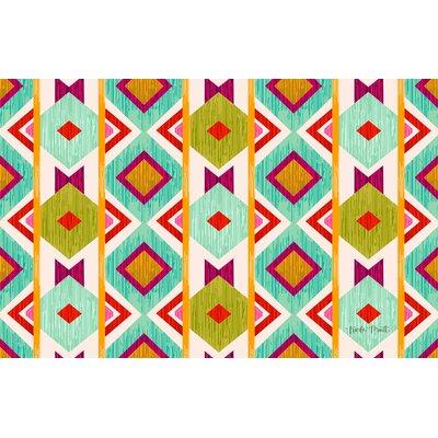 Ikat Area Rug Rug Size: 31 x 110.5