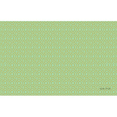 Woven Green Area Rug Rug Size: 510 x 44