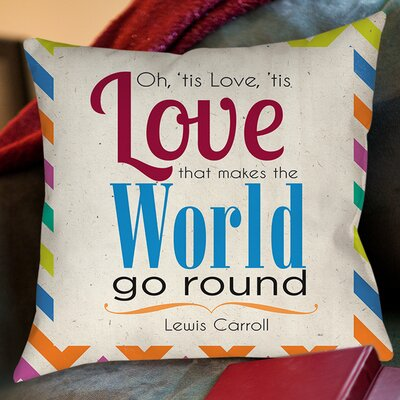 World Sdgraphics Studio Sundance Printed Throw Pillow Size: 20 H x 20 W x 5 D