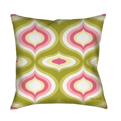 Britney Geo Printed Throw Pillow Size: 26 H x 26 W x 7 D
