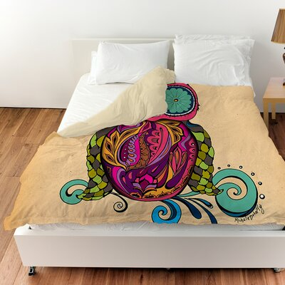 Owl Branch Gregir Duvet Cover Size: Queen