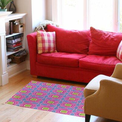 Amina Star Pink Area Rug Rug Size: 510 x 44