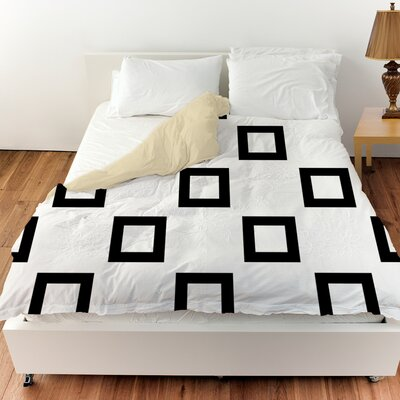 Band Duvet Cover Size: King