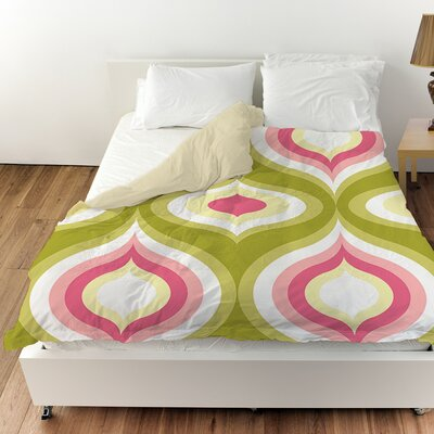 Britney Geo Duvet Cover Size: Twin
