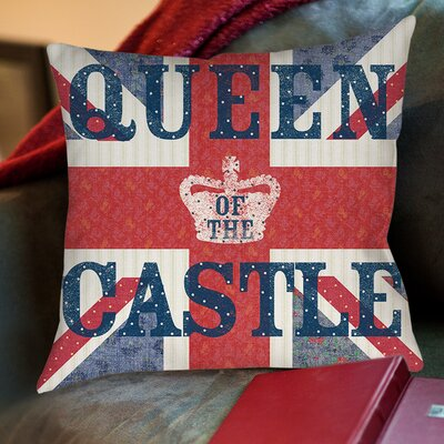 My Queen Castle Sue Schlabach Wild Apple Printed Throw Pillow Size: 16 H x 16 W x 4 D