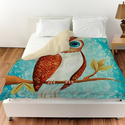 Be Wise Duvet Cover Size: Queen