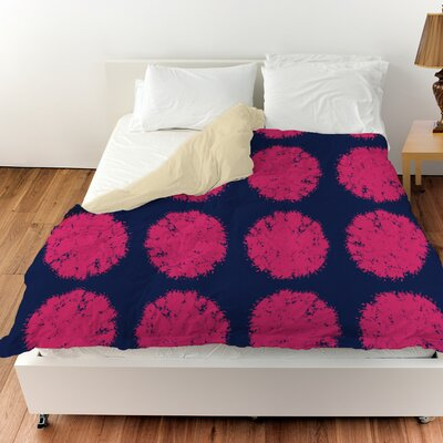 Pod Dots Duvet Cover Size: Twin
