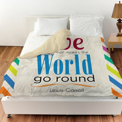 World Sdgraphics Studio Sundance Duvet Cover Size: Queen