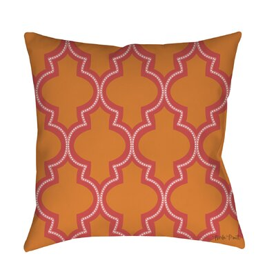 Ogee Dots Printed Throw Pillow Size: 26 H x 26 W x 7 D