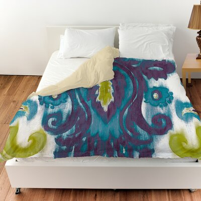Radiant Transitions Duvet Cover Color: Blue, Size: King
