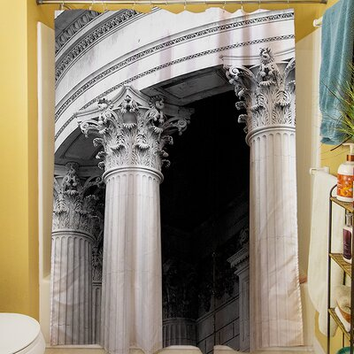 A Travers Paris III Shower Curtain