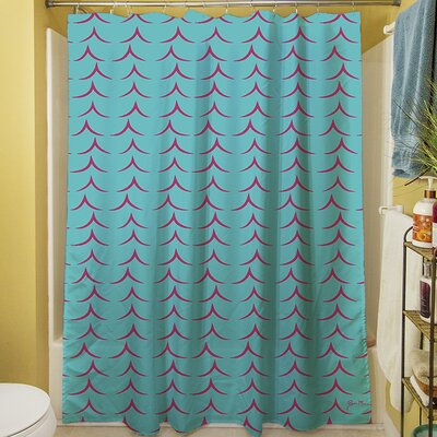 Banias Teepee Shower Curtain