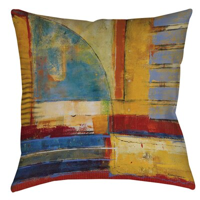Arena 1 Printed Throw Pillow Size: 16 H x 16 W x 4 D