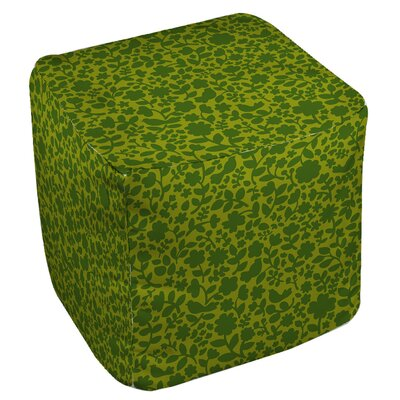Ambrose Bird Ottoman Upholstery: Green