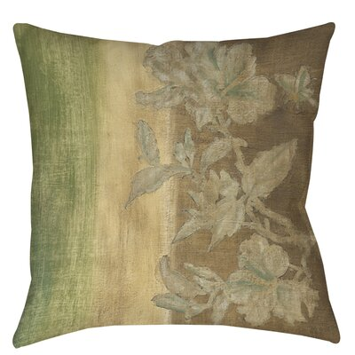 Analisa Floral Printed Throw Pillow Size: 18 H x 18 W x 5 D