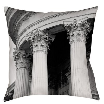 A Travers Paris III Indoor/Outdoor Throw Pillow Size: 16 H x 16 W x 4 D