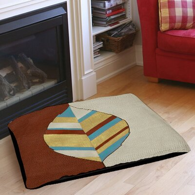 Apache Leaf 1 Pet Bed Size: 40 L x 30 W